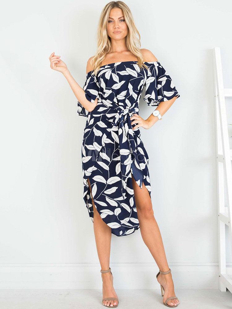 Slit Summer Dress
