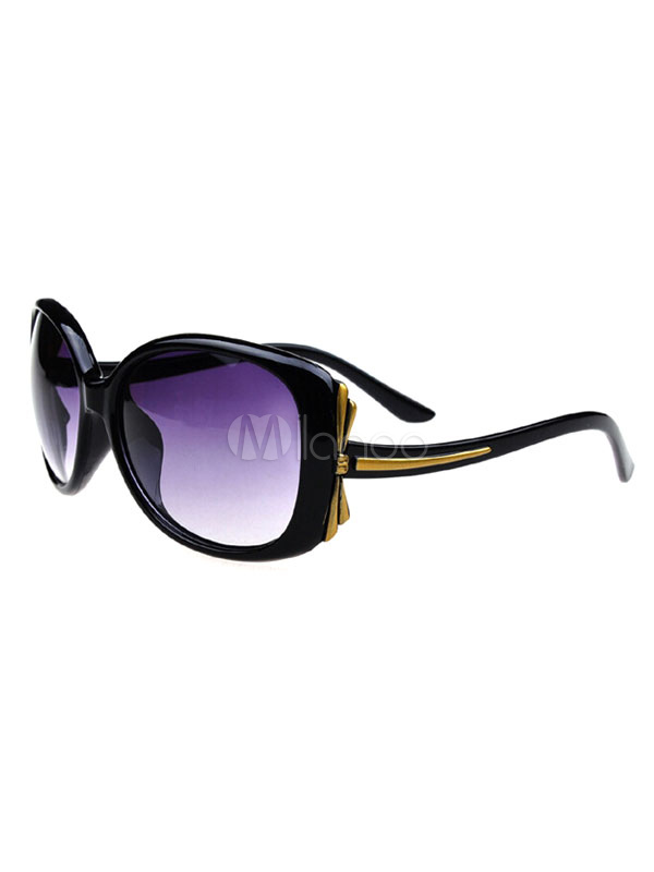Women's Black Sunglasses Full Rim Cheap clothes, free shipping worldwide