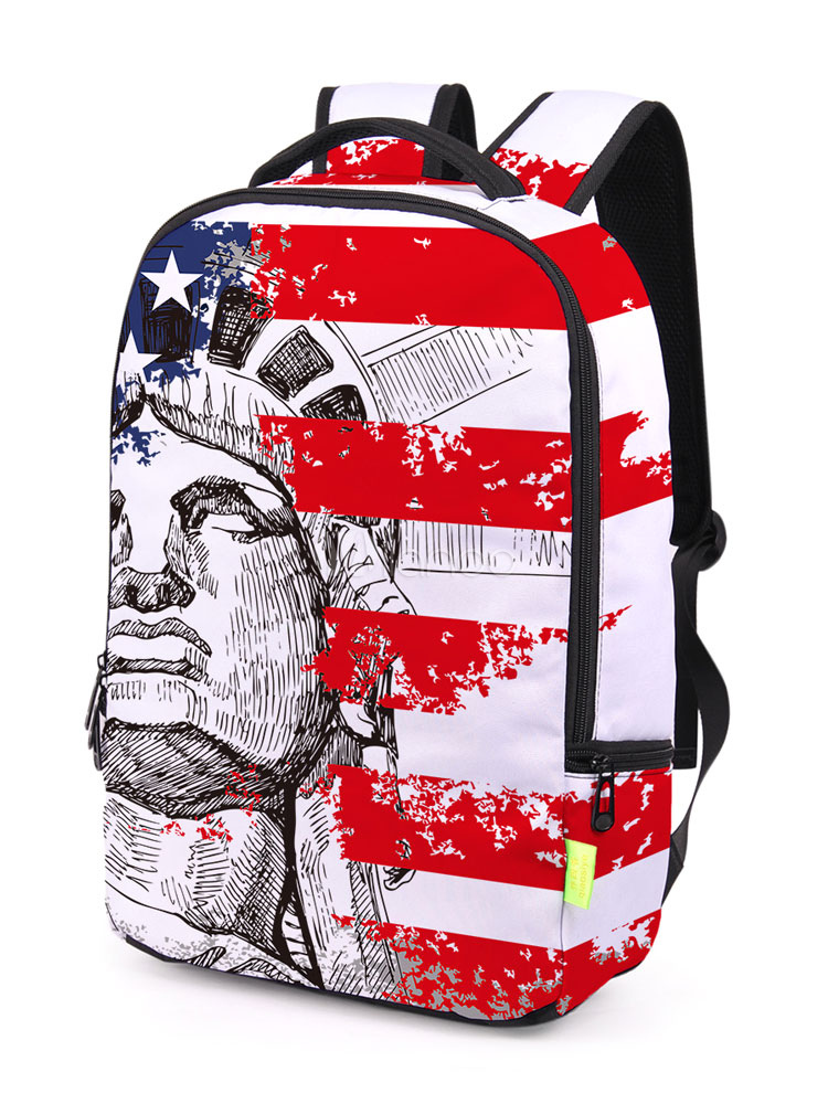 3D Print Backpack The Statue Of Liberty Printed Bags
