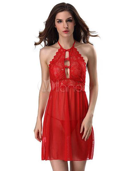 Beliebte Nacht-Kleid-Kleid-Grün-Ausschnitt-Frauen reizvolle Robe ...