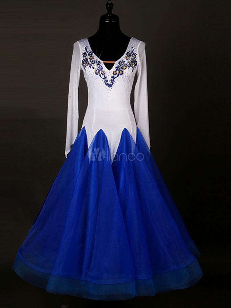 Белое Платье Для Бальных Танцев