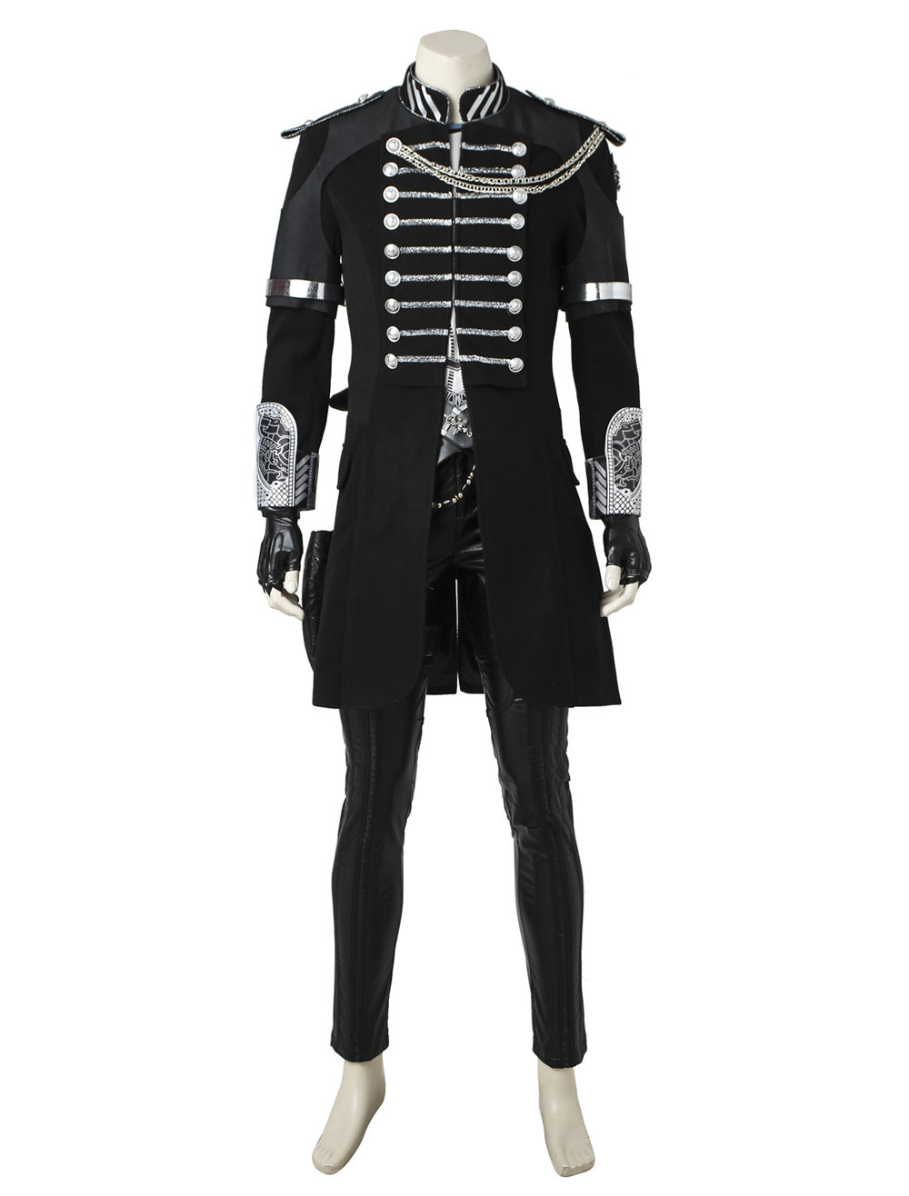 Kingsglaive Final Fantasy XV Movie Noctis Lucis Caelum Suede Leather Cosplay Costume Halloween