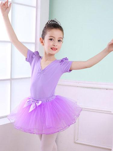 35c89f670 Ballet Dance Costume For Kids Lilac Tutu Leotard Performance Dress ...