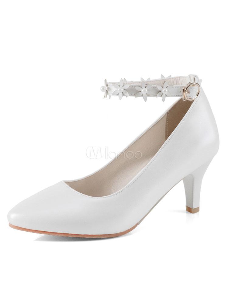 Zapatos de tacón medio de puntera puntiaguada de tacón de kitten estilo modernopara pasar por la noche de PU Cb4MNvYdBX