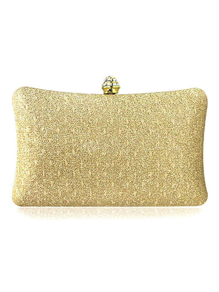 Wedding Clutch Bags Bridal Blonde Evening Handbags