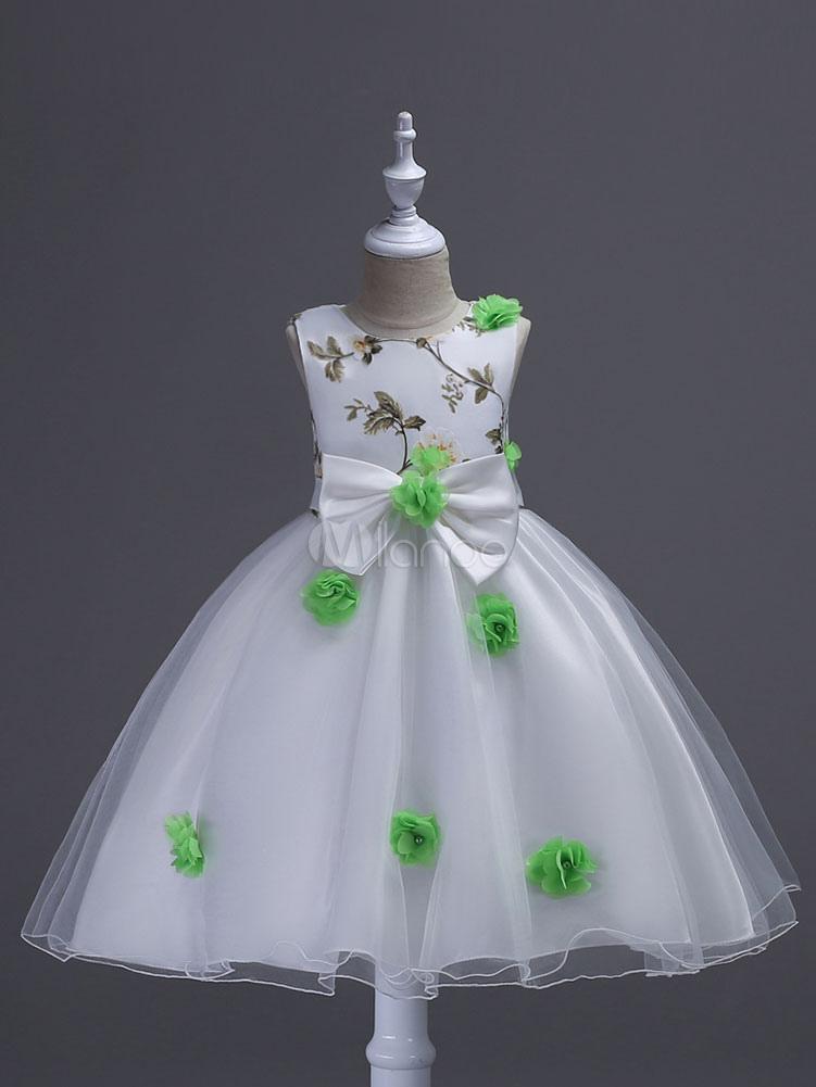 Flower Girl Dresses Princess Tutu Dress Tulle Kids Party Dresses