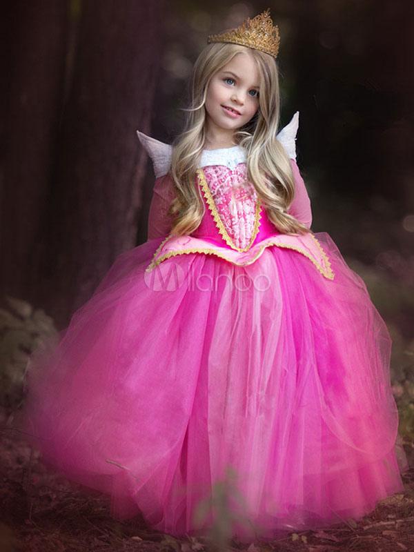 ... Costume Halloween per Bambini 2019 Vestito Rosa da Tutu di Principessa  Aurora per Bambina-No ... 6e312a75140