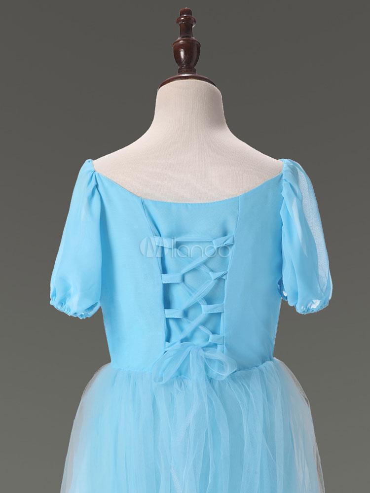 Costume cosplay per bambini set blu abito cartone animato