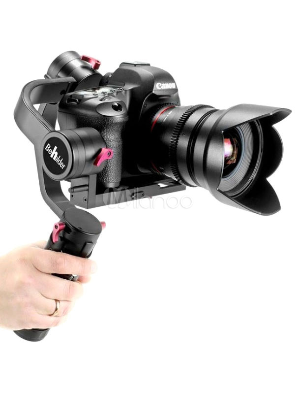 Buy Handheld Gimbal Stabilizer DS1 3 Axis Brushless Dual Sensors Single Handgrip DSLR Camera Support for $765.69 in Milanoo store