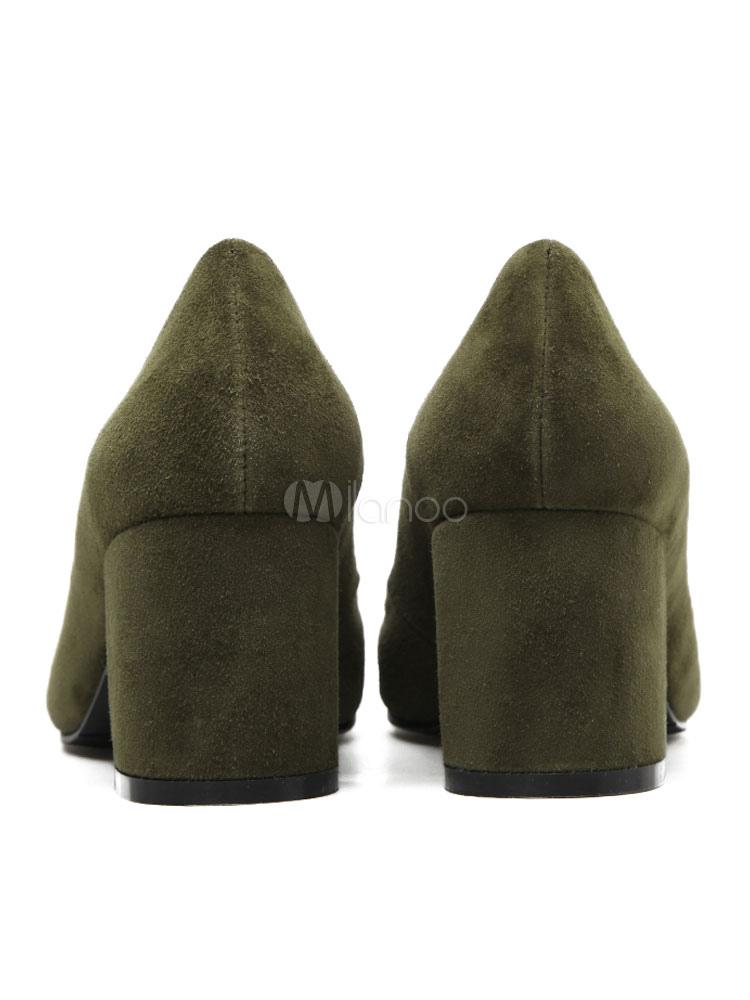 Zapatos de tacón medio de puntera puntiaguada de tacón gordo antideslizantes cómodospara pasar por la noche de piel de carnero mate  Color Negro Adidas BY9791  estilo moderno  made in Italy 7N7tAC7