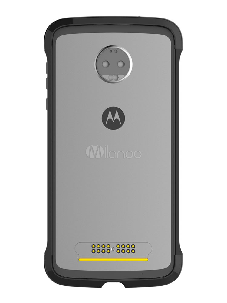 more photos fab3f 81441 Moto Z2 Force Metal Bumper Anti-Scratch Shock Resistant One Buckle Locking  Easy Assembling Protective Case