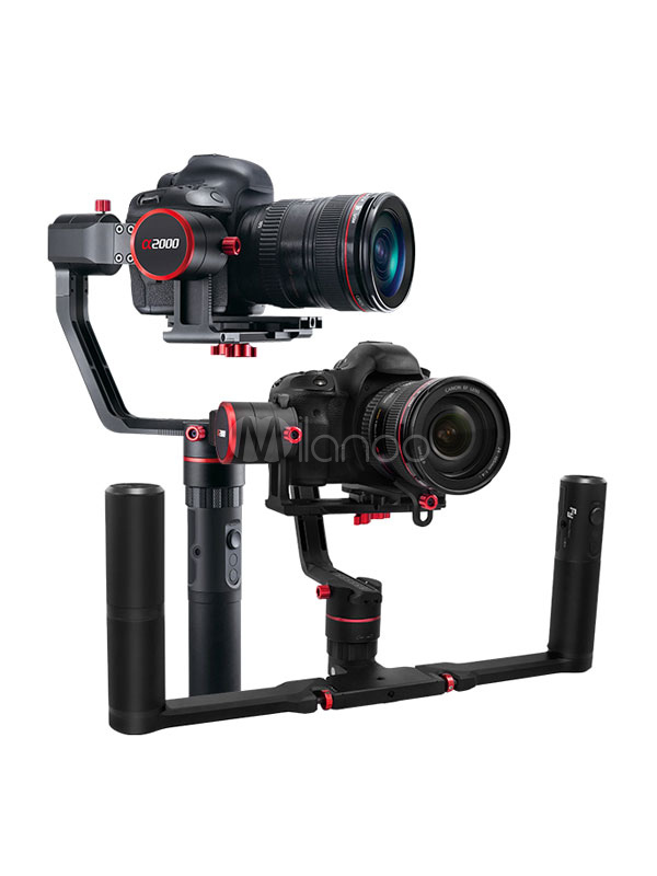 Buy Feiyu Camera Stabilizer A2000 3 Axis Dual Handheld Grip Black Handheld DSLR Gimbal for $897.59 in Milanoo store