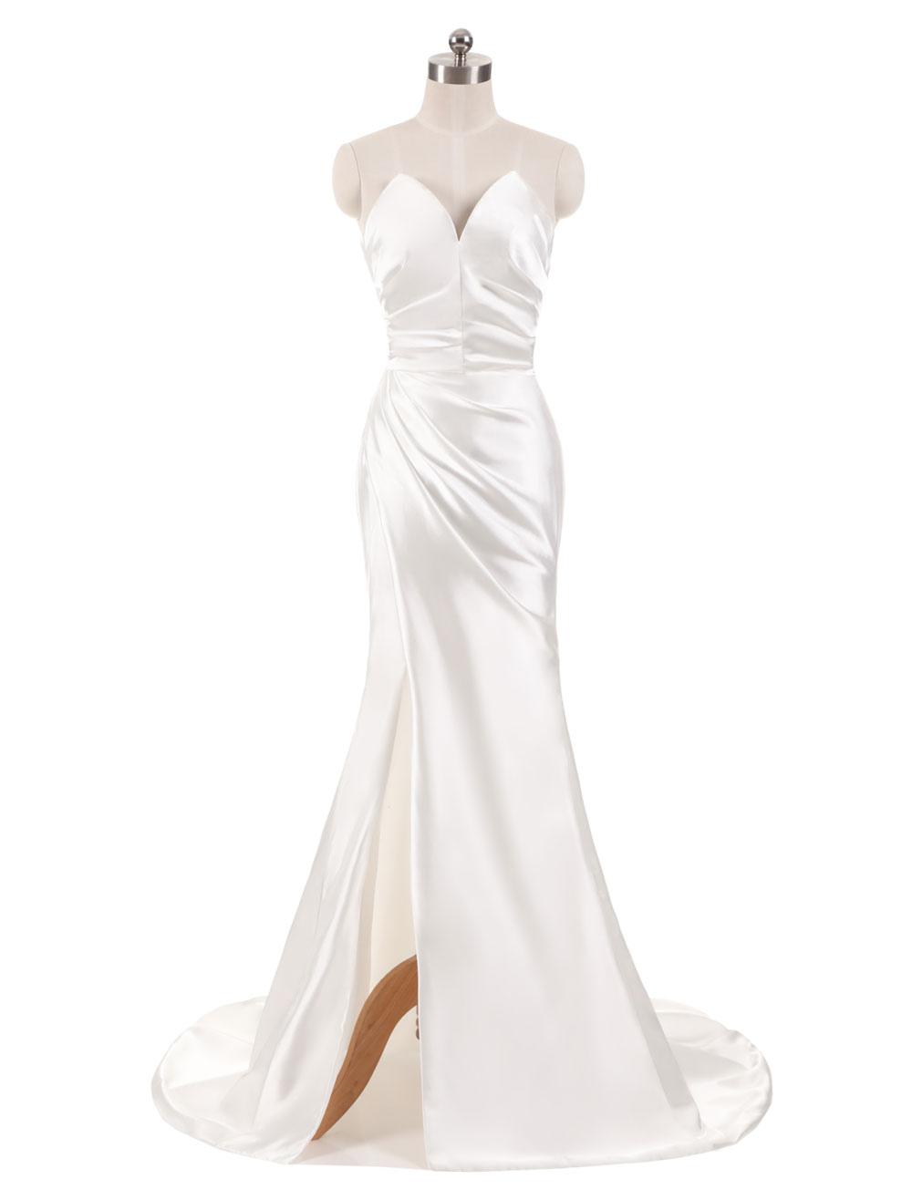 Staples's Wedding Dresses V-Neck