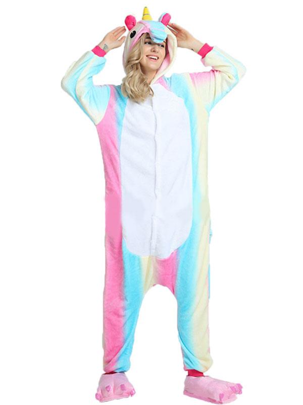 einhorn kost m regenbogen tierkost me pyjamas einhorn. Black Bedroom Furniture Sets. Home Design Ideas
