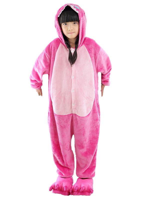 riche et magnifique bien pas cher magasin en ligne Kigurumi pyjama pour enfant hiver automne en flanelle pour enfants en  flanelle pour garçon pour fille personnage de dessins animés Halloween
