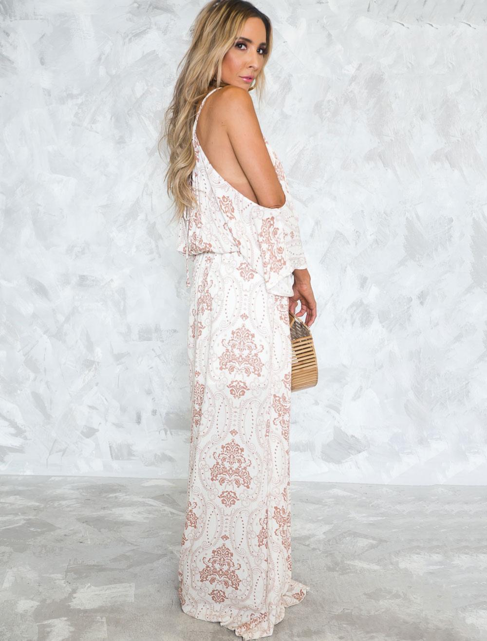 a6364e29ab White Long Sleeve Maxi Dresses
