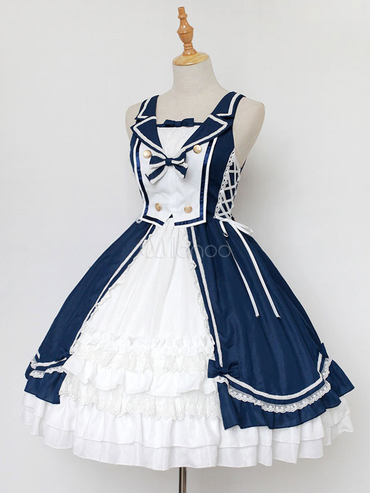 classic lolita jsk jumper skirt neverland sleeveless