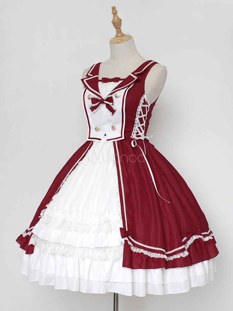 Classic Lolita Jsk Jumper Skirt Neverland Sleeveless