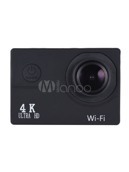 Buy 4K Action Camera Ultra HD 16MP Wifi 1080P 4x Digital Zoom 30 FPS Waterproof Action Camera With Accessories for $59.49 in Milanoo store
