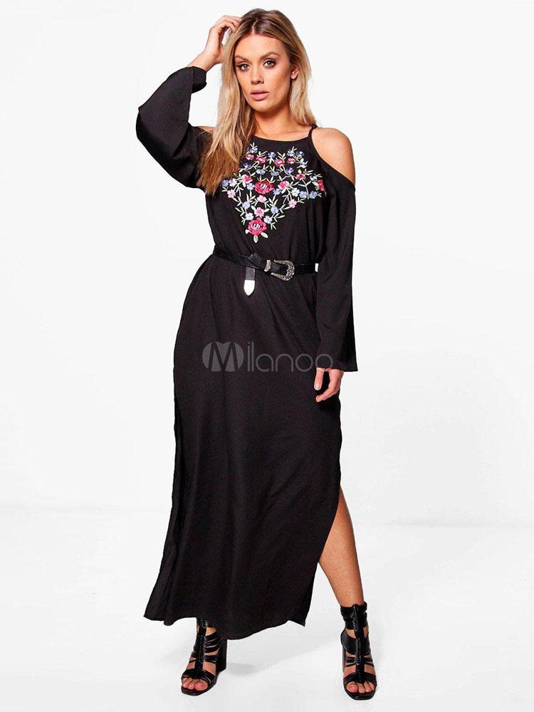 Kleider schwarz lang