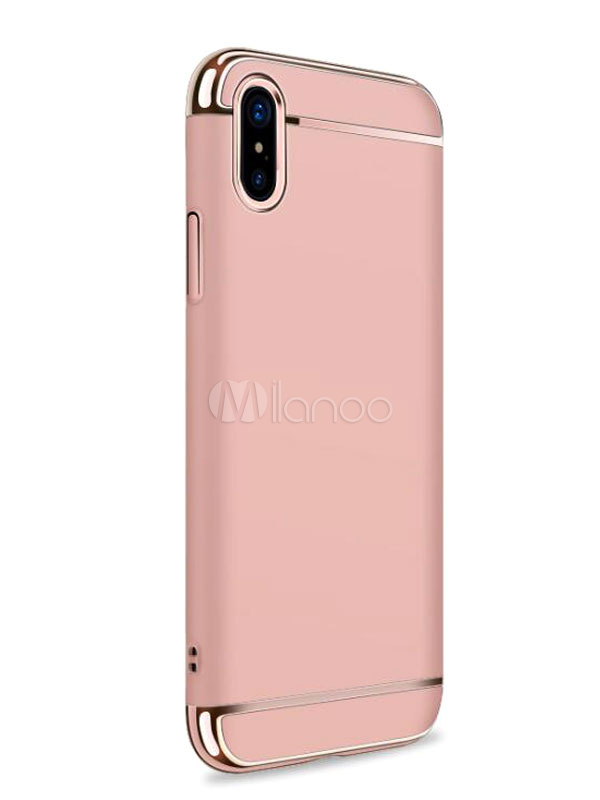 iphone x phone case two tone piping slim protective cover. Black Bedroom Furniture Sets. Home Design Ideas