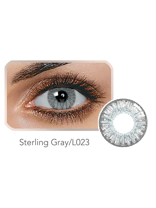 Contact Lens Color Balafilcon Sterling Gray Yearly No 1