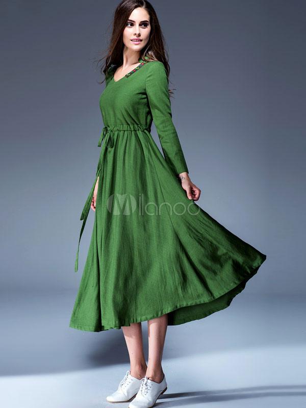 Vestidos para fiesta de lino