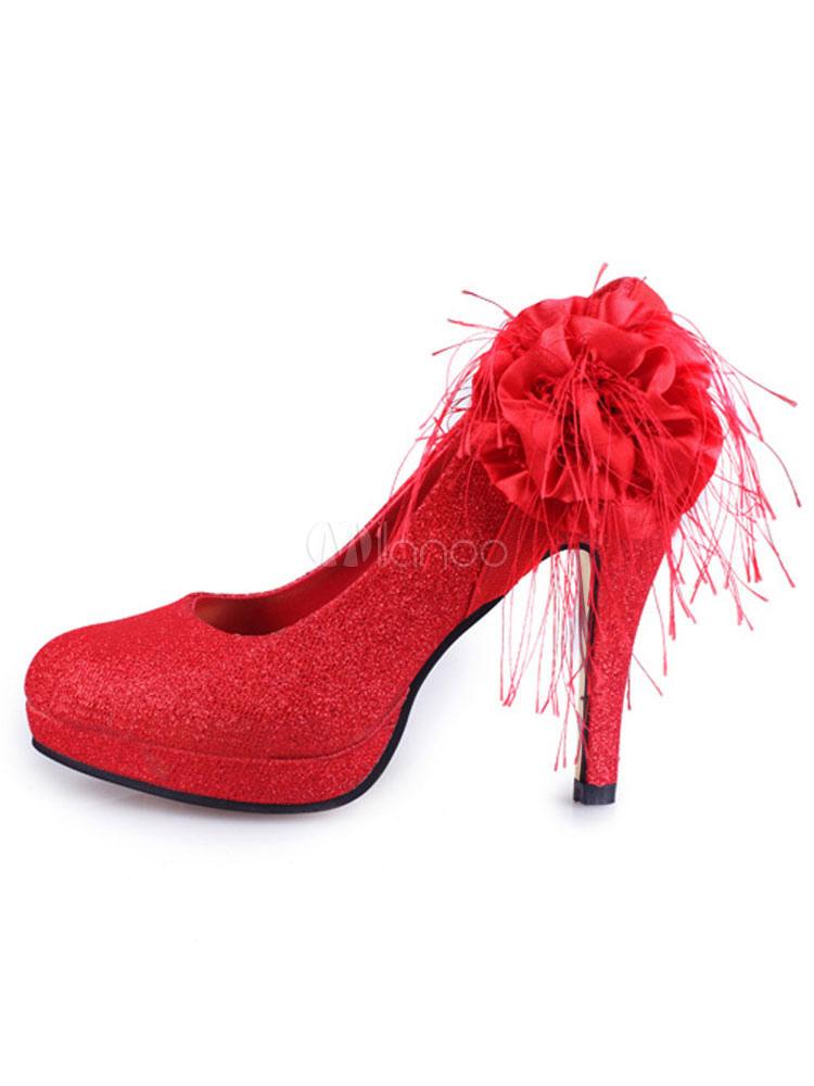 scarpe sposa eleganti rosse rotondo tacco largo tacco medio 5 08 7 62cm paillettes a fiori per la festa di matrimonio milanoo com scarpe sposa eleganti rosse rotondo tacco largo tacco medio 5 08 7 62cm paillettes a fiori per la festa di matrimonio