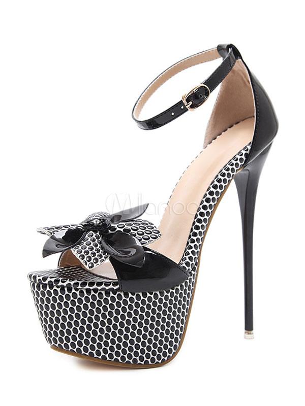 Tu con tacco scarpa in Albicocca Taglia 5