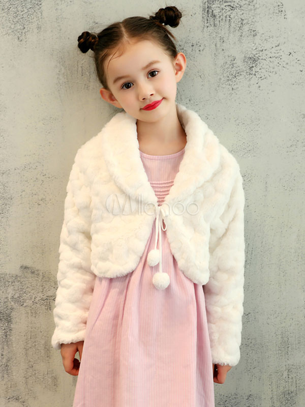 Kids Fur Jacket