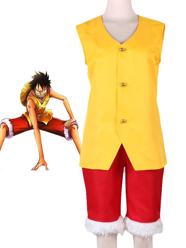 One Piece Luffy Cosplay Costume Halloween
