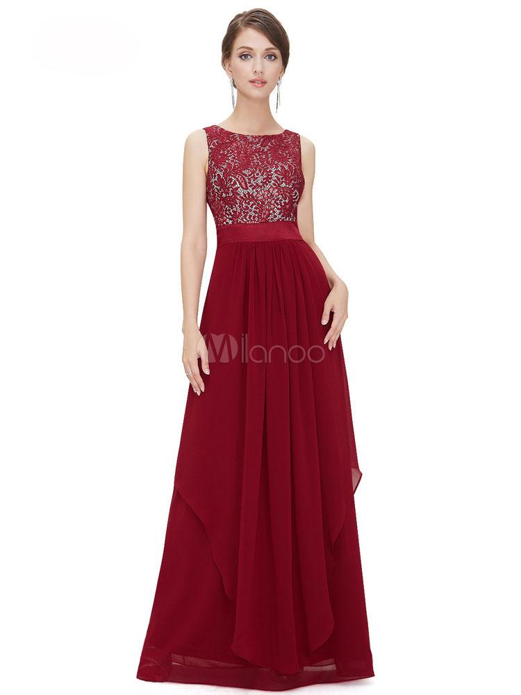 5c6b6205e1 ... Chiffon Maxi Dress Lace Patchwork Backless Women's Tiered Sash Sleeveless  Long Dress-No.14