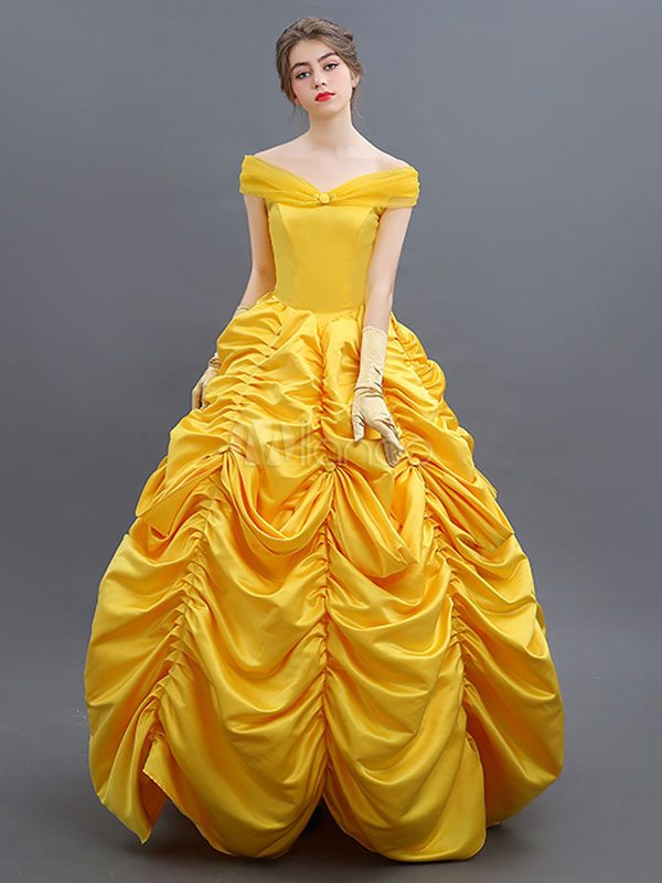 Beauty And The Beast Belle Cosplay Costume Halloween
