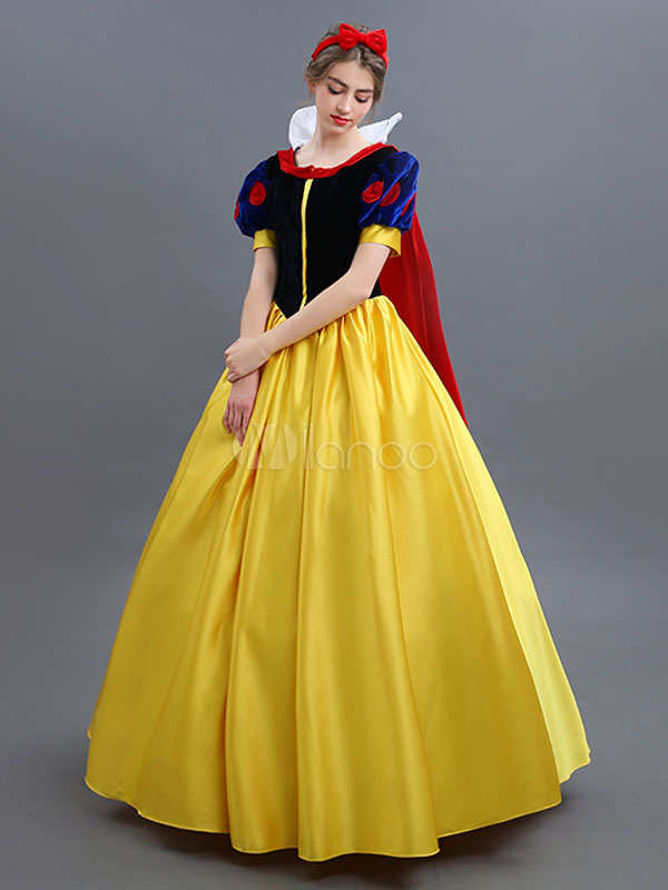 Halloween de dessin anim blanche neige disney cosplay costume halloween - Blanche neige halloween ...