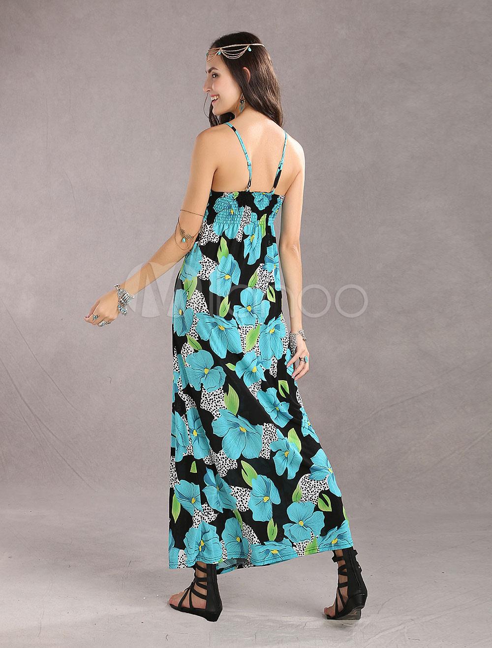 robe longue multicolore r glable avec perles licou. Black Bedroom Furniture Sets. Home Design Ideas