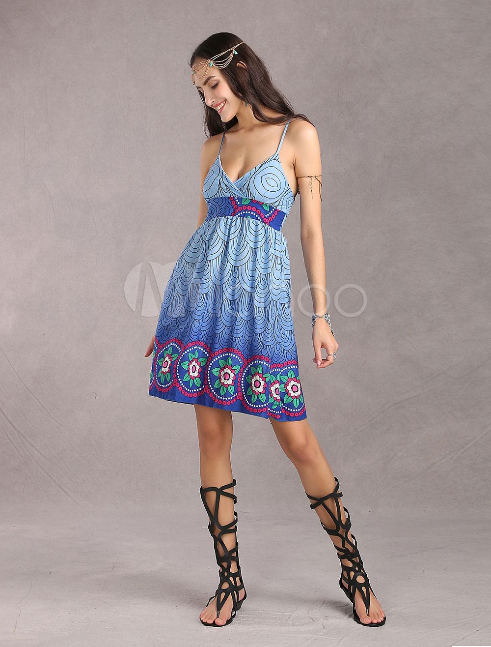 Pink Plaid 100% Cotton Spaghetti Womens Print Dress