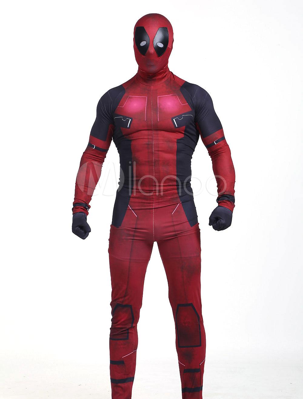 Deadpool Halloween Wade Wilson Cosplay Costume Halloween - Milanoo.com