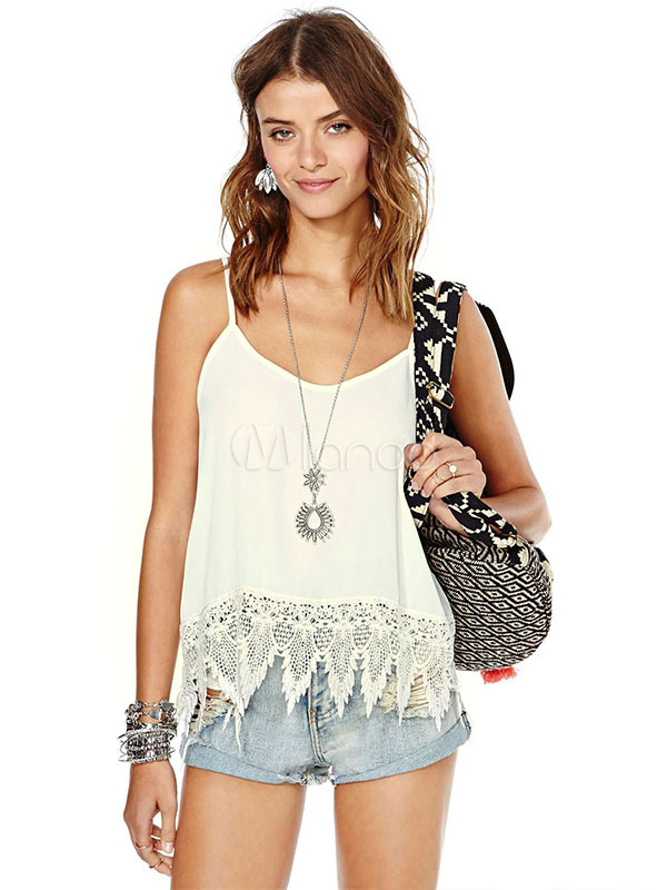 Backless Lace Tanks