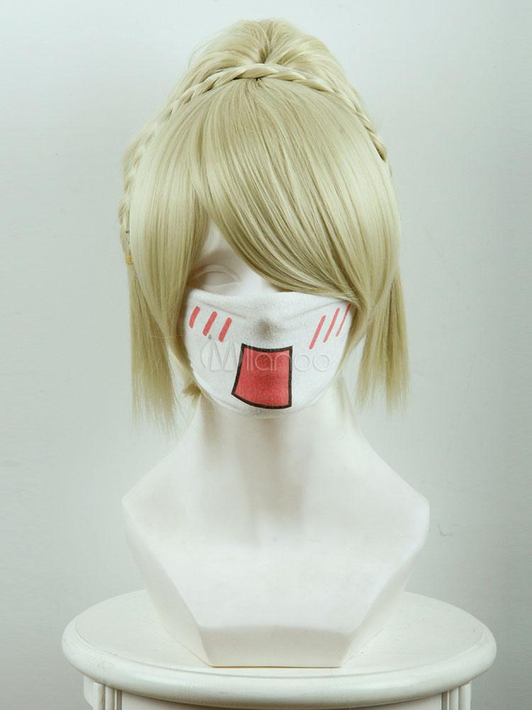 Final Fantasy XV Lunafreya Nox Fleuret Cosplay Wig Halloween