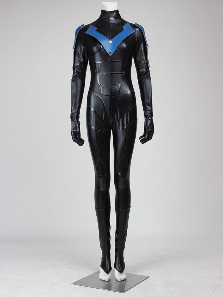 Buy Batman Arkham City Nightwing Female Version Halloween Cosplay Costume Halloween for $191.99 in Milanoo store