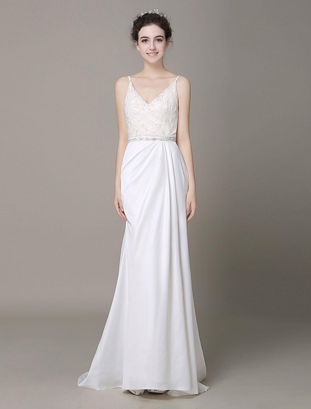 Wedding Dresses with Color Belt