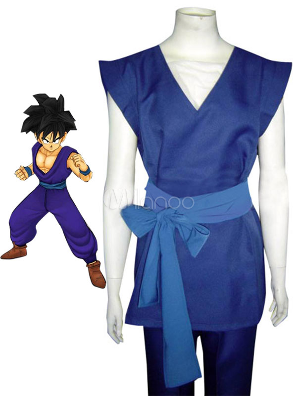 Dragon Ball Son Goku Halloween Cosplay Costume Halloween