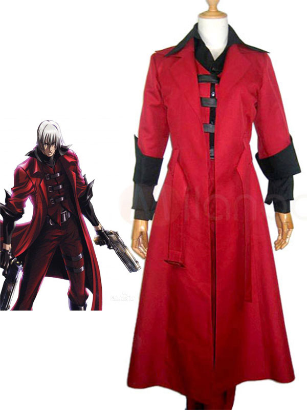 Devil May Cry V DMC5 Nero Cosplay Costume Outfit Jacket Shirt Full Set Halloween