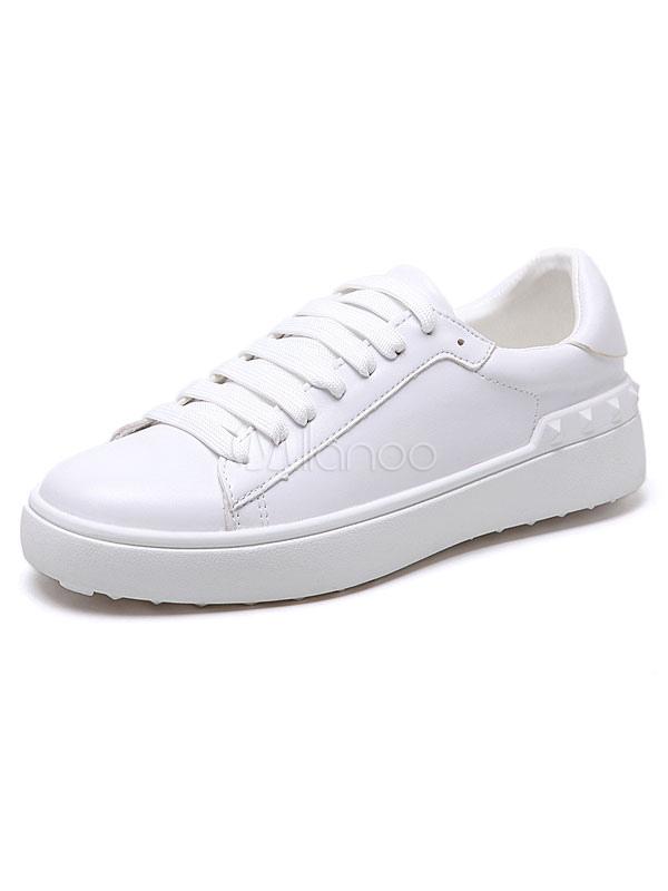 Zapatos de puntera redonda con cinta de PU Planos Color liso estilo informal Invierno para ocasión informal CIVvCqZ