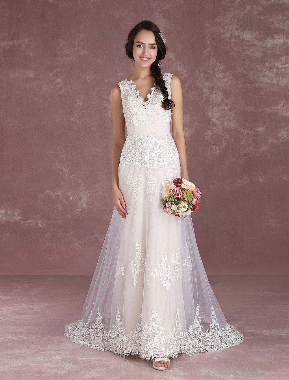 Boho Hochzeitskleid, b?hmisches Hochzeitskleid online | Milanoo.com