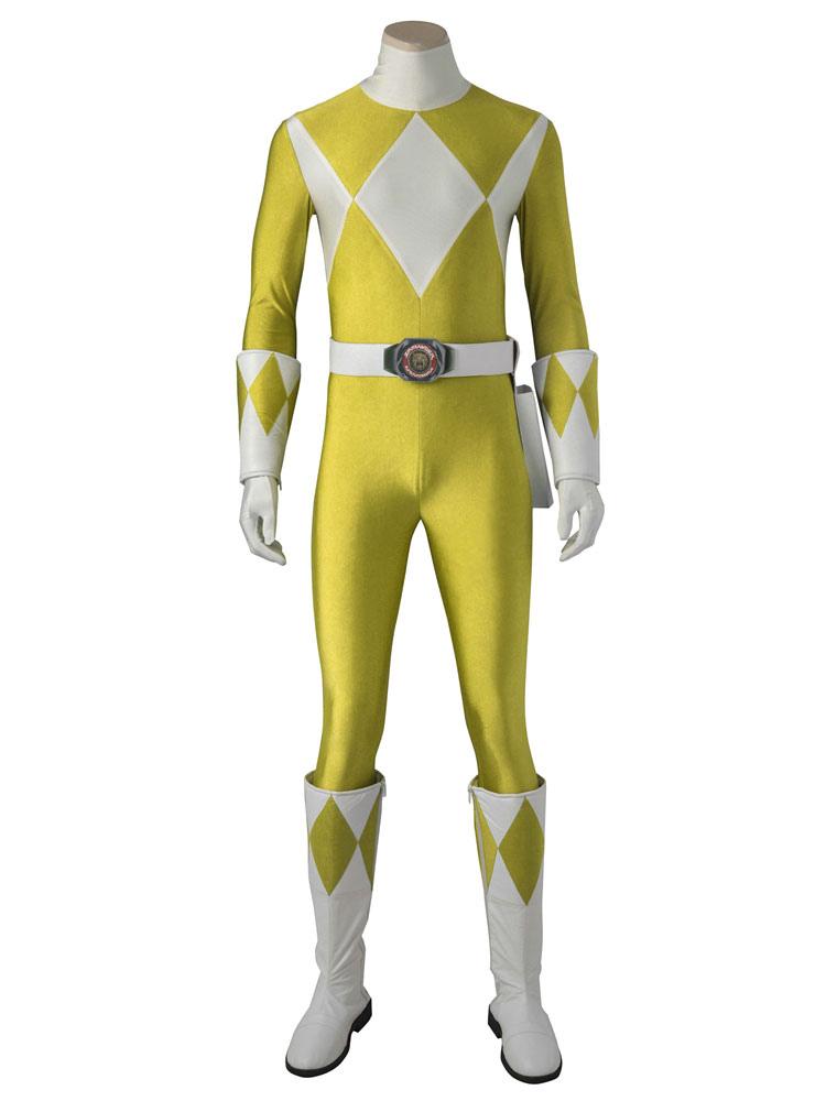 Power Rangers Saber Tiger Boi Halloween Cosplay Costume Halloween