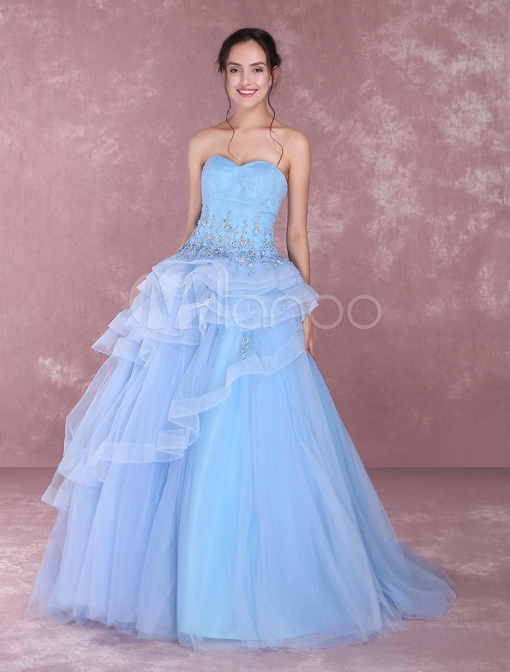 Strapless Baby Dresses