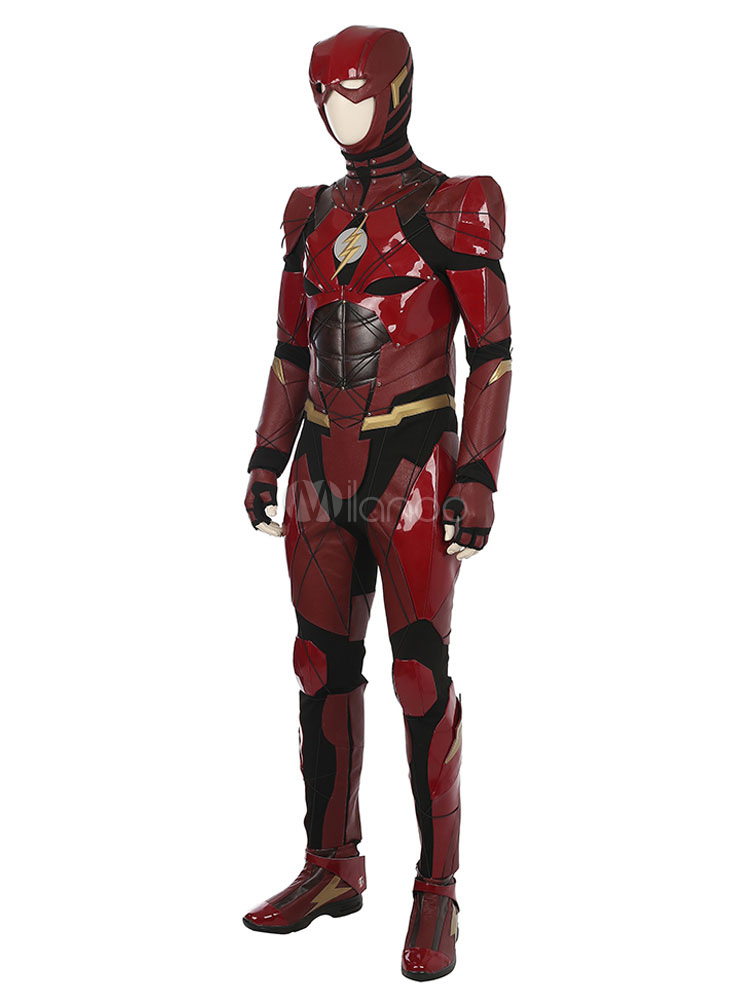 Dc Comics Justice League The Flash Cosplay Costume