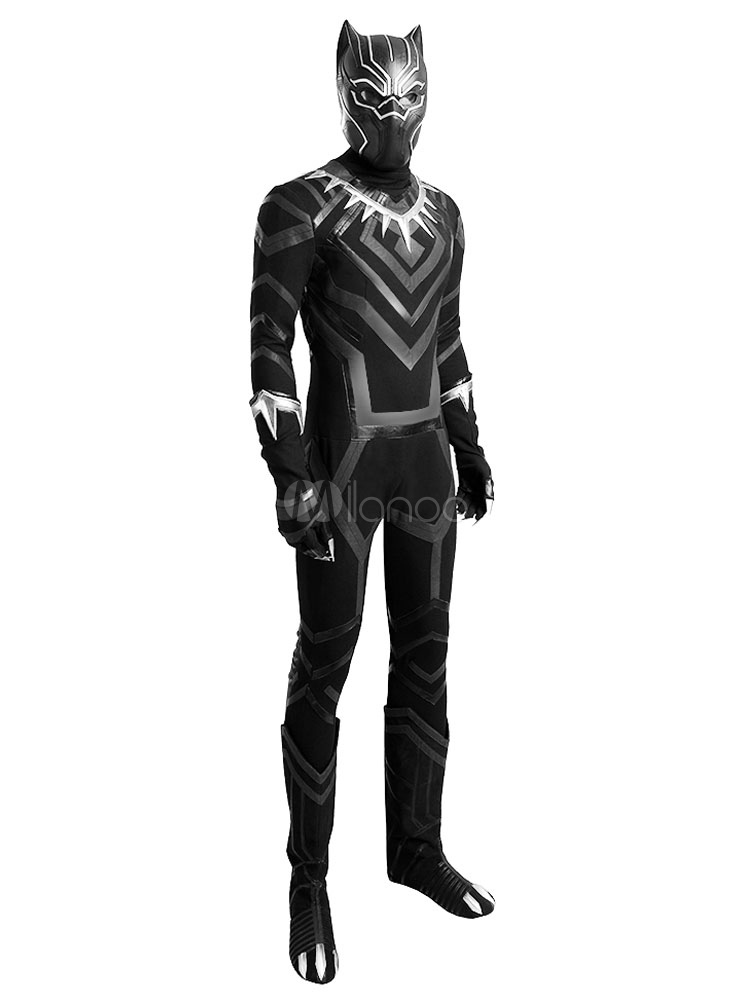 ... Avengers Black Panther Halloween Cosplay Costume Marvelu0027s Comic Cosplay Costume ...  sc 1 st  Milanoo.com & Avengers Black Panther Halloween Cosplay Costume Marvelu0027s Comic ...
