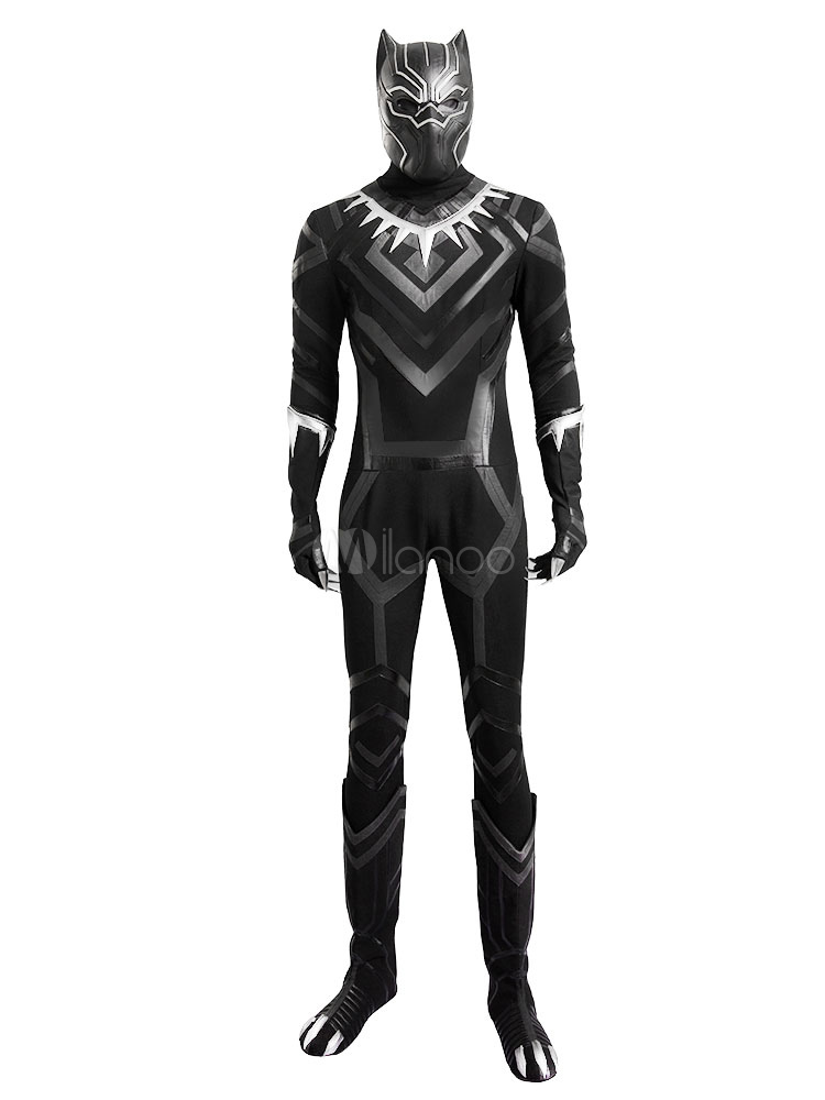 Buy Avengers Black Panther Halloween Cosplay Costume Marvel's Comic Cosplay Costume Halloween for $220.99 in Milanoo store
